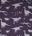 Dya-think-e-saurus-Purple-Tiere-KinderTapeten-Silber-Lila