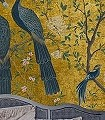 Edo-gold,-col.91-Vögel-Fauna-Gold