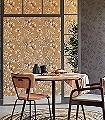 Eldrid,-col.-1-Blumen-Blätter-Florale-Muster-Rosa-Anthrazit-Bronze