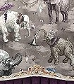 Elephants-March,-Argentum---A+B-Set-Tiere-Exoten-Multicolor