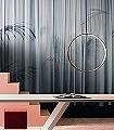 Elisir,-col.01-Blätter-Vorhang-tromp-l'oeil-Moderne-Muster-Blau