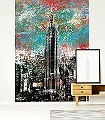 Empire-State-Building-large-Kunst-Gebäude-Moderne-Muster-Multicolor