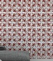 Essaouira-Kachel-Orientalisch-Rot-Weiß
