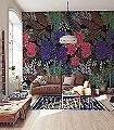 FREEDOM-Blumen-Blätter-Florale-Muster-FotoTapeten-Multicolor