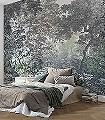 Fairytale-Forest-Bäume-Landschaft-Florale-Muster-FotoTapeten-Multicolor
