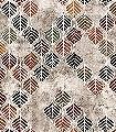 Fall-Arouse,-col.-1-Blätter-Florale-Muster-FotoTapeten-Multicolor