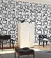 Familjen-Bilderrahmen-Moderne-Muster-Schwarz-Weiß-Schwarz-und-Weiß