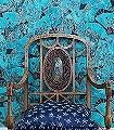 Fanfare,-col.-1-Blumen-Tiere-Asia-Fächer-Klassische-Muster-Fauna-Blau
