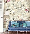Feeling-Papergood-Blumen-Noten-Moderne-Muster-Creme-Multicolor-Hellbraun