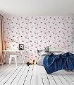 Felicity-Flamingo,-col.07-Tiere-KinderTapeten-Rosa-Weiß-Pink