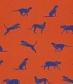 Felin-pour-laudre,-col.-30-Tiere-Fauna-Rot-Blau