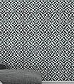 Fez-Kachel-Grafische-Muster-Schwarz-Weiß-petrol