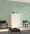 Fish-meets-bird,-col.2-Tiere-Vögel-Fische-Fauna-Moderne-Muster-Grün-Blau-Braun-Anthrazit-mint