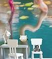 Flamingo-1-Vögel-Flamingos-Fauna-FotoTapeten-Multicolor