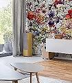 Flora-K18-Blumen-Blätter-Collage-Florale-Muster-FotoTapeten-Multicolor