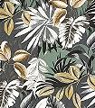 Floresta,-col.-2-Blumen-Blätter-Florale-Muster-Braun-Gelb-Anthrazit-Weiß