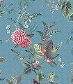 Floris-Flowers.-col.-5-Blumen-Tiere-Blätter-Vögel-Fauna-Florale-Muster-Multicolor