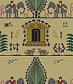 Forest-Life,-lightgreen-Tiere-Figuren-KinderTapeten