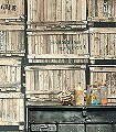 Franklin-Holz-Patina-FotoTapeten-Braun-Hellbraun