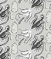 Fredsfäglar,-col.01-Vögel-Vogelkäfig-Fauna-Grau-Schwarz-Weiß