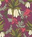 Friti,-plum-Blumen-Blätter-Florale-Muster