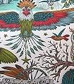 Frontier-Green,-col.-03-Blumen-Tiere-Bäume-Vögel-Fauna-Florale-Muster-Multicolor