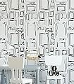 Galerie,-col.-50-Bilderrahmen-Moderne-Muster-KinderTapeten-Schwarz-Weiß-Schwarz-und-Weiß