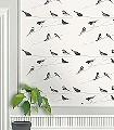 Garden-Birds,-stone-Vögel-Moderne-Muster-Grau-Creme-Multicolor-mint