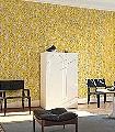 Garden-City,-col.01-Blätter-Moderne-Muster-Gelb-Schwarz-Weiß