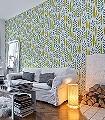 Garden-City,-col.04-Blätter-Moderne-Muster-Blau-Schwarz-Weiß-limette