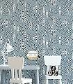 Garden-City,-col.05-Blätter-Moderne-Muster-Grau-Schwarz-Weiß-Hellblau