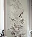 Gatsby-Blumen-Blätter-Zeichnungen-FotoTapeten-Grau-Anthrazit-Perlmutt