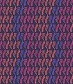 Geometry,-reds/purple-on-black-Formen-Moderne-Muster-Lila-Orange-Schwarz-Pink