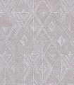 Giuglia-Silver-Rauten-Klassische-Muster-Silber-Creme