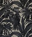 Giungla,-col.01-Blätter-Florale-Muster-Braun-Schwarz