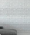 Glyphs,-col.01-Buchstaben-Quadrate/Rechtecke-Moderne-Muster-KinderTapeten-Schwarz-Weiß