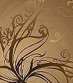 Gold-Formen-FotoTapeten-Gold-Braun