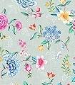 Goodevening,-col.-3-Blumen-Blätter-Fauna-Florale-Muster-Multicolor