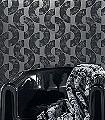 Gordian,-col.04-Kreise-Moderne-Muster-Silber-Anthrazit-Schwarz