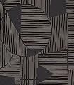 Graphique,-col.-03-Kreise-Linie-Graphisch-Grafische-Muster-Braun-Schwarz