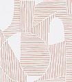 Graphique,-col.-04-Kreise-Linie-Graphisch-Grafische-Muster-Rot-Weiß