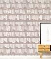 Greige-Edition-Schemen/Silhouetten-Moderne-Muster-Braun-Weiß