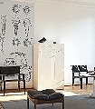 Grey-Edition-A2-Gegenstände-Moderne-Muster-FotoTapeten-Schwarz-Creme