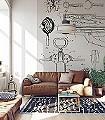 Grey-Edition-B2-Gegenstände-Moderne-Muster-Schwarz-Creme