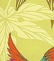 Grove-Garden,-col.-01-Tiere-Blätter-Vögel-Fauna-Florale-Muster-Grün-Gold-Orange-Türkis