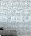 Hernando-Kreise-Quadrate/Rechtecke-Graphisch-Grafische-Muster-Weiß-Perlmutt-Hellblau