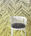 Herringbone,-Yellow-Zickzack-FotoTapeten-Gelb-Anthrazit-Weiß