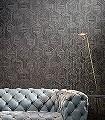 Hive,-col.31-Holz-Quadrate/Rechtecke-Graphisch-Grafische-Muster-Grau-Anthrazit-Türkis