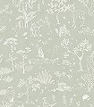 Hollie,-col.-08-Blumen-Tiere-Bäume-Blätter-Fauna-Florale-Muster-KinderTapeten-Hellgrün-Weiß