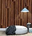 Holztapete,-eiche-kupfer-Holz-Vertäfelung-Moderne-Muster-Braun